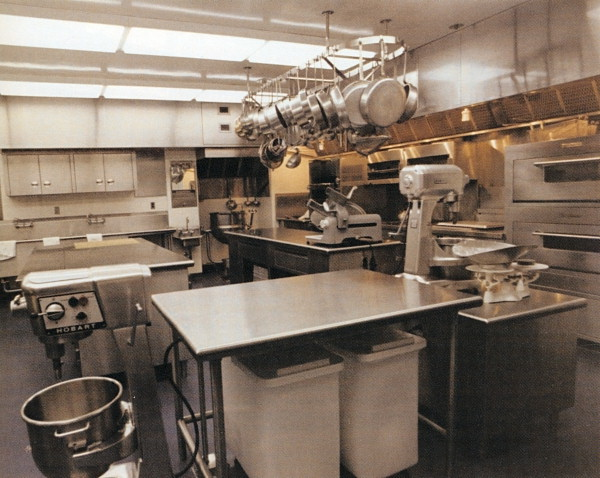Kitchen 1971 Shortly After Renovation August Looking