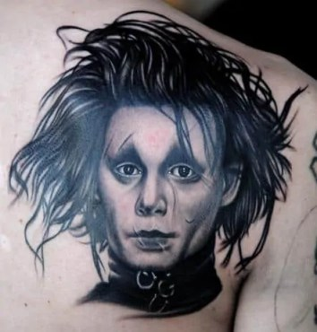 nikko hurtado Edward Scissorhands