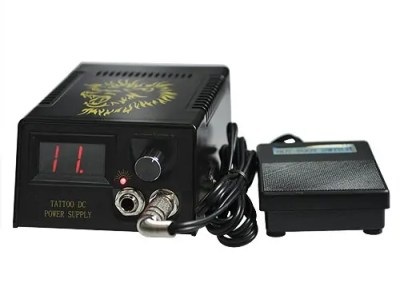 Tattoo machine kit power supply