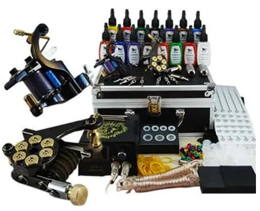 Tattoo starter kits and tattoo kit supplies for beginner
