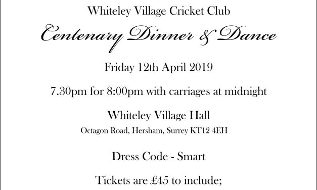Dinner and Dance 12 April