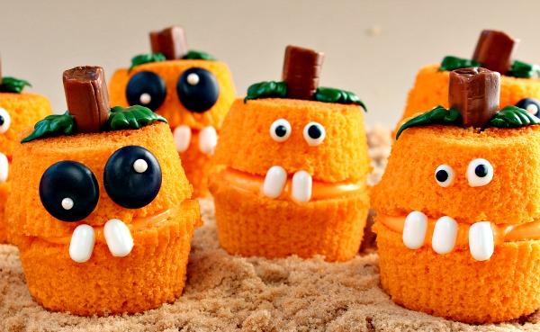 Pumpkin Patch Cupcake Poppers