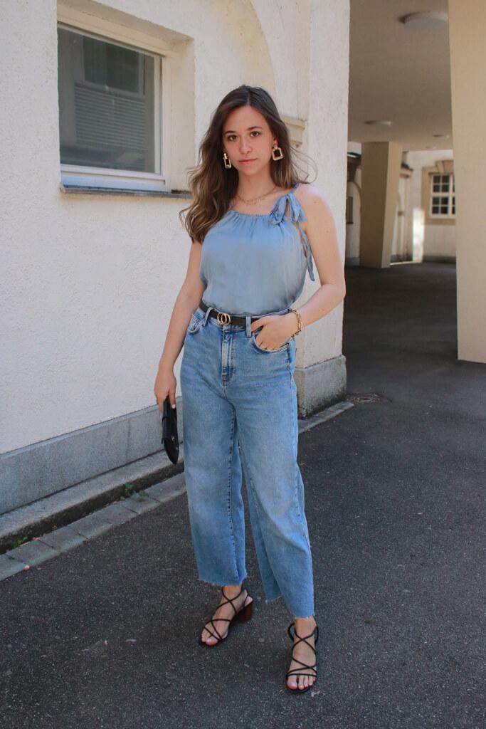 Outfit mit Jeans – elegant und schick, so stylen wir Sie festlich