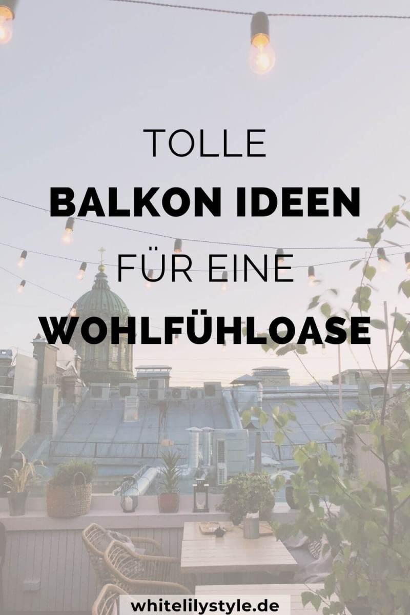 Balkon Ideen – tolle Ideen zur Balkongestaltung mit Wohlfühlfaktor