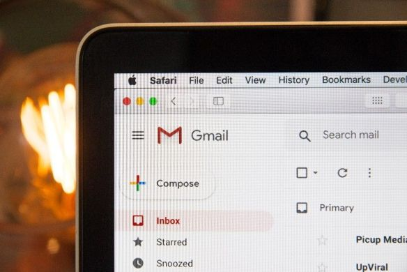 Screenshot of Gmail