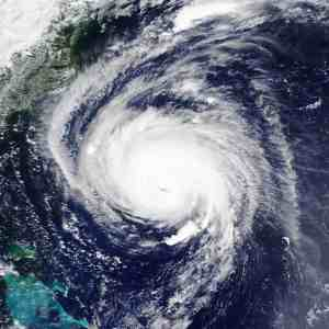 Hurricane Florence. Elements Of This Image Furnished By Nasa