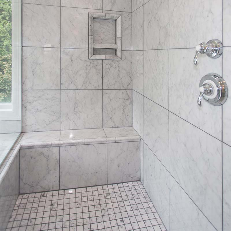 best white carrara marble tile 12x12