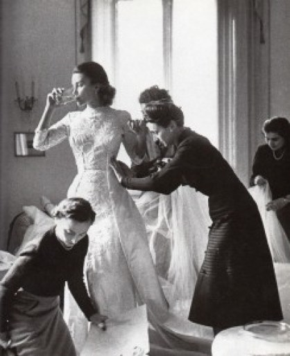 Bride-being-fitted