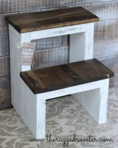 Build a DIY Step Stool, DIY Stool