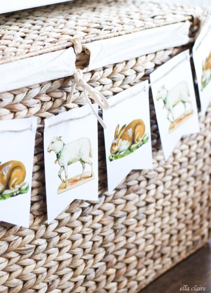 Marie Claire, free easter printables, free easter
