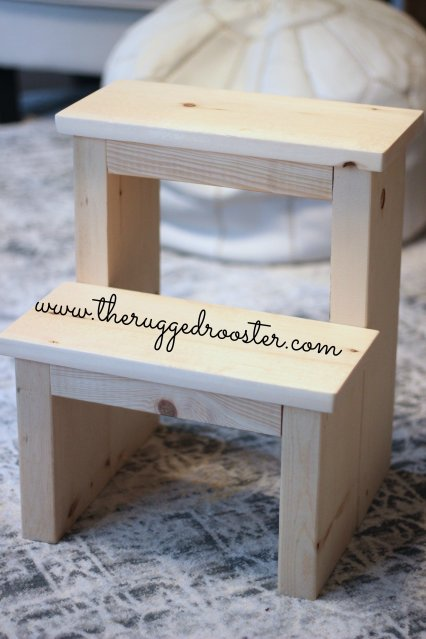 DIY Step Stool, Build a Stool