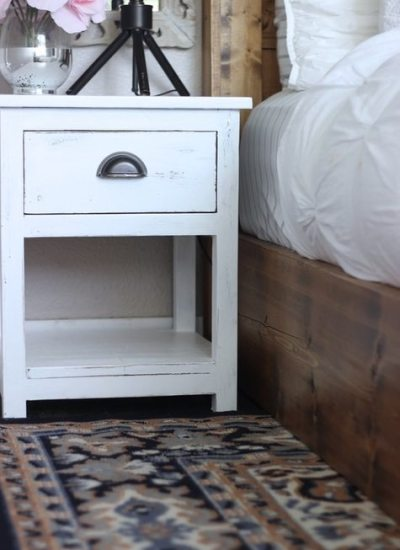 Farmhouse Bedroom Upgrade: { Part 1 }