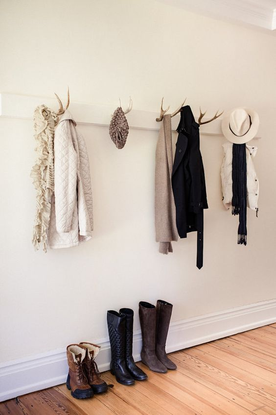 Antlers hangers, Entrance hooks, Coat Rack