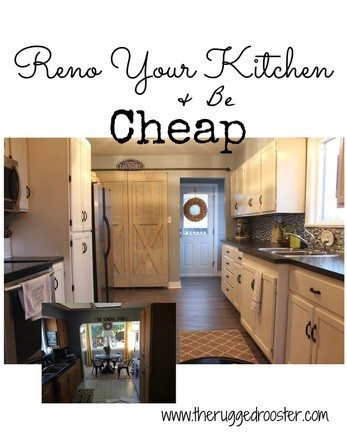 Cheap Farmhouse Kitchen Renovation