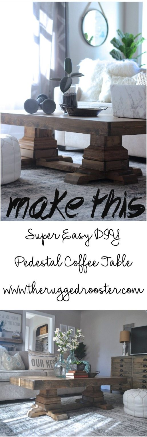 Build a DIY Coffee table, Ana White Coffee Table, Shanty2Chic Coffee Table, Easy Pedestal Coffee Table, DIY Pedestal Coffee Table, DIY Coffee Table, Build A Coffee Table Campbell River, Vancouver Coffee Table