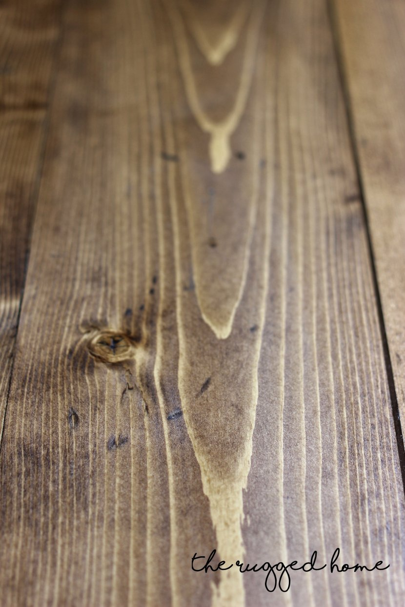 How To Make New Wood Look Aged, DIY Aged Wood, How TO Stain Rustic Wood
