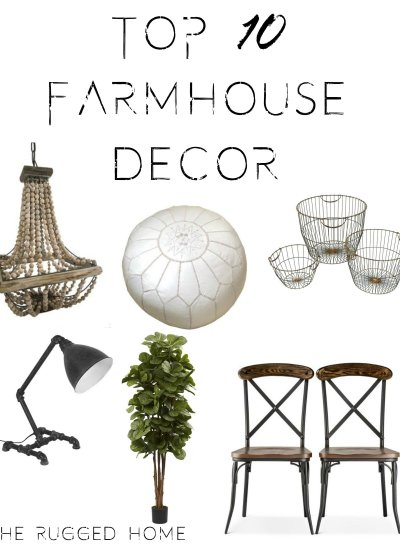 Top 10 Farmhouse Decor & Where To Buy!