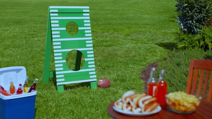Home Depot Workshop Fathers Day Football Toss DIY