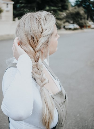 Easy Fishtail Braid