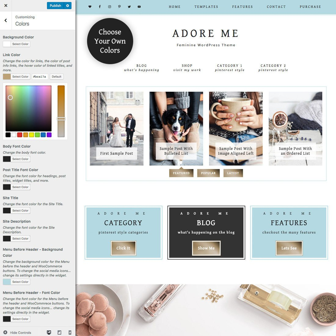 My New Blog Makeover and How You Can Get One Too For Under 50 Dollars