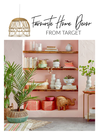 Favourite Home Decor From Target