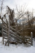 The old cattle ramp