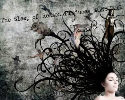 The Sleep of Reason Produces Monsters (WhiteRosesArt.com)