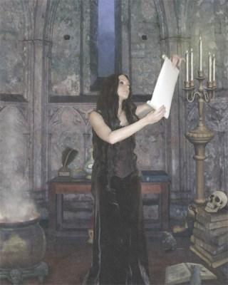 The Witch (WhiteRosesArt.com)