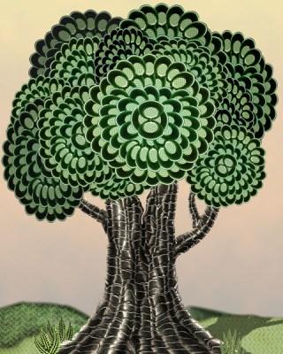 The Tree (WhiteRosesArt.com)