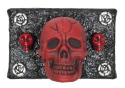 3 Skulls in Red (WhiteRosesArt.com)