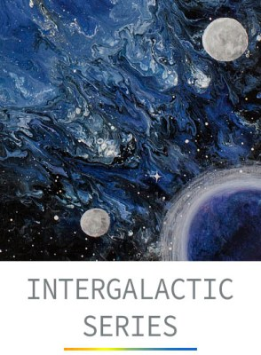 The Intergalactic Series - Space Themed Abstracts by Heather Miller