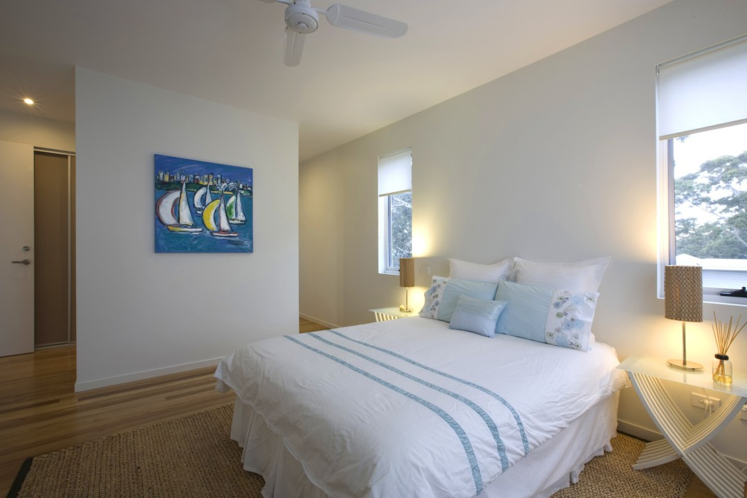Hazelwood Beach House Master Bedroom