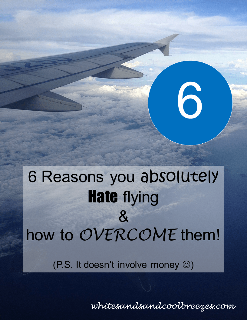 6 Reasons you hate to fly.