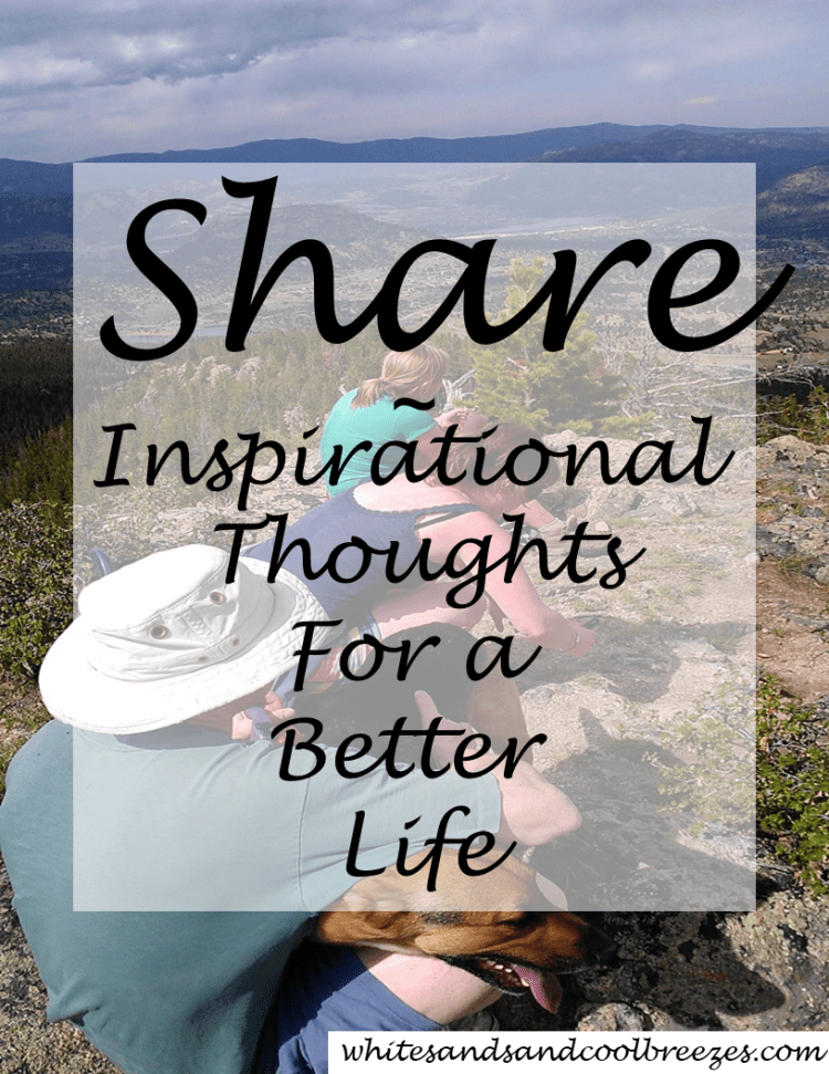 Are you good at sharing? Do you find yourself constantly trying to get your kids/family to share? The remote, television time, game consoles, games, toys? How about this, just time in general? Try it! You might just be happy with the outcome! #share #inspiration #thoughtfortheday