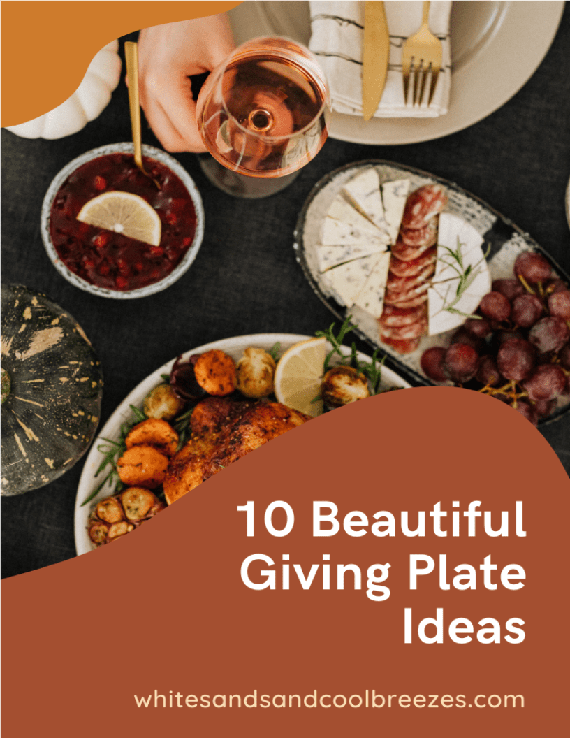 10 Beautiful Giving Plate Ideas That Will Be Appreciated