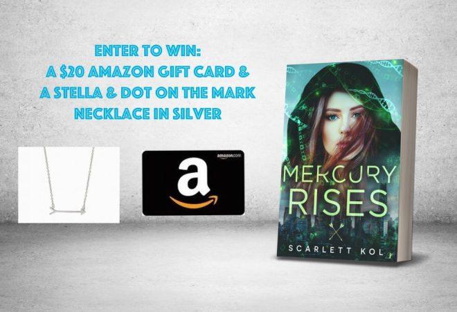 Mercury Rises - Giveaway Graphic