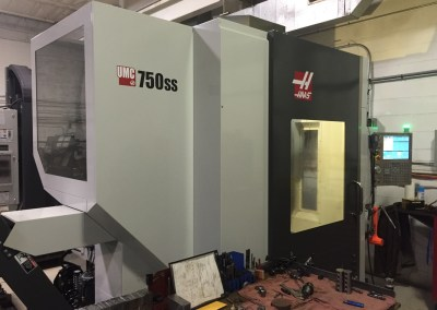 Haas UMC 750ss 5 Axis - 15000 RPM Spindle