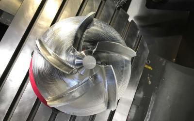 Impeller Blades with Mastercam Blade Expert