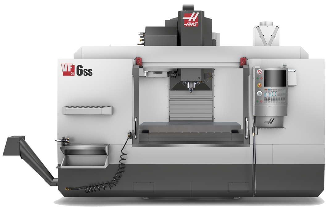 haasvf6ss tooling machine
