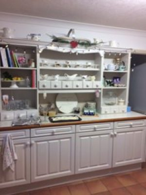 kitchen dresser at Christmas 2 e1500927632742 225x300 - A Kitchen Makeover in time for Christmas
