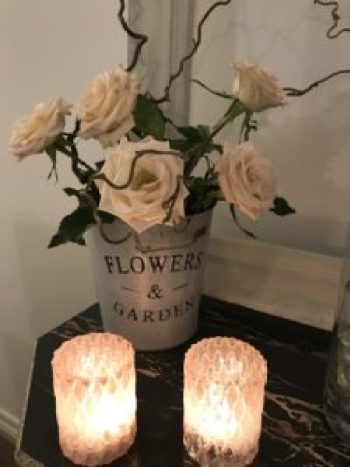 Fade roses and candlelight 1 e1503564038281 225x300 - Candles - Vintage and Thrifty Styling for the Home