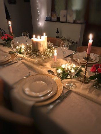 New Years Eve table setting 225x300 - Candles - Vintage and Thrifty Styling for the Home
