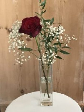 single red rose 4 e1505978844620 225x300 - The Rose - Vintage and Thrifty Styling for the Home