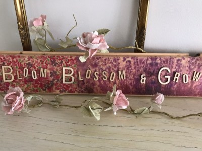 finished decoupage sign 300x225 - DIY - Three quick and easy DIY Projects for any Home