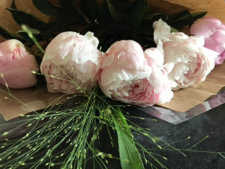 peonies 2 300x225 - Flowers - Vintage and Thrifty Styling for the Home