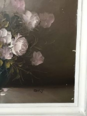 damaged oil painting 2 e1511253140124 225x300 - Paintings - Vintage and Thrifty Styling for the Home