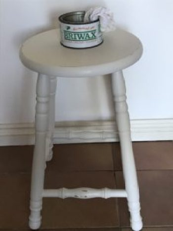 bar stool waxing e1515402171994 225x300 - Bar Stools - up-cycling and alternative uses around the home