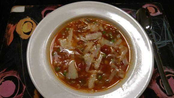 minestronesuppe med hvide bønner
