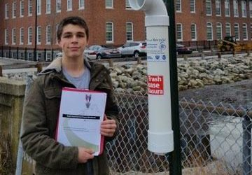 Eagle Scout candidate takes on Blackstone Valley conservation projects