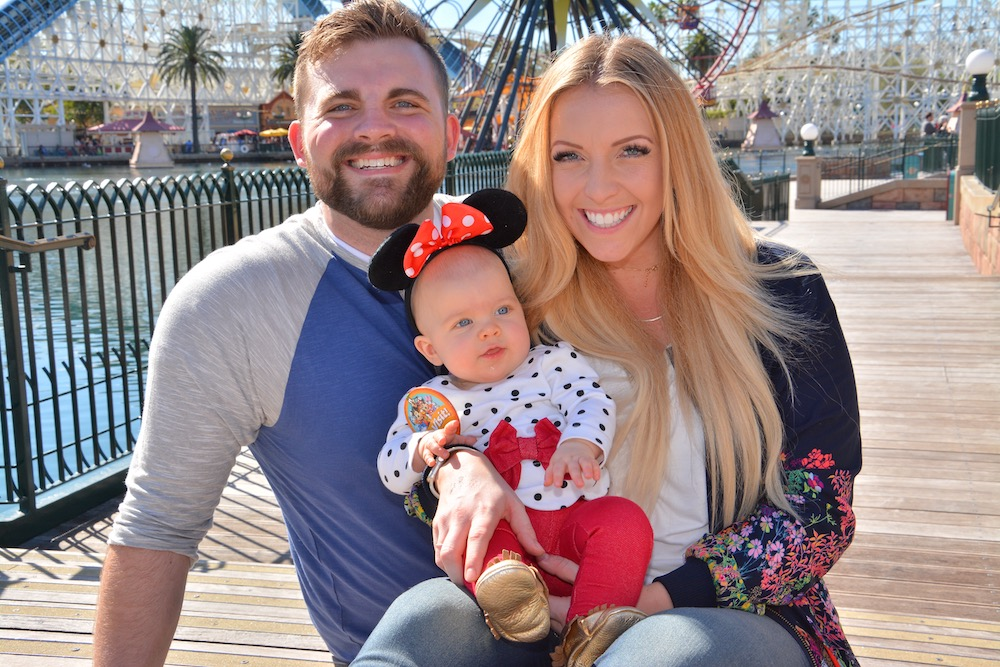 Giving you my #1 best piece of advice for having a stress free vacation to Disneyland, especially if you're on a budget and traveling with a baby! | whitjxoxo.com